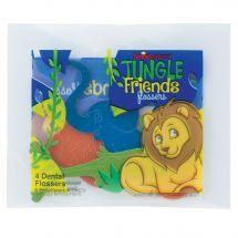 Jungle Friends Flosser Packs
