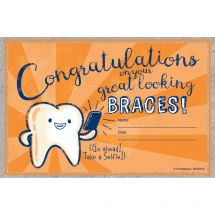 Congratulations on Braces Awards