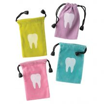 Tooth Drawstring Bags