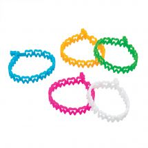 Rubber Tooth Bracelets