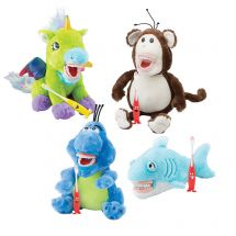 SmileMakers Dental Plush 4-Pack