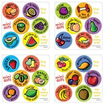 Scented Motivational Fruit Mini Stickers