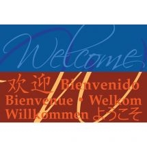 Welcome Languages Greeting Cards
