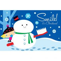 Smile It's Christmas Greeting Cards