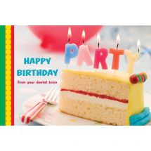 Party Candles Greeting Cards