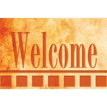 Welcome Red Stone Greeting Cards