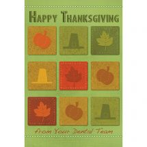 Thanksgiving Icons Greeting Cards