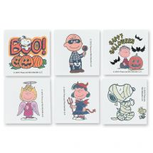 Peanuts® Halloween Temporary Tattoos