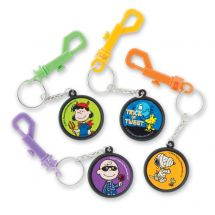 Peanuts Halloween Clip Backpack Pulls