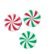 Peppermint Candy Yo Yos