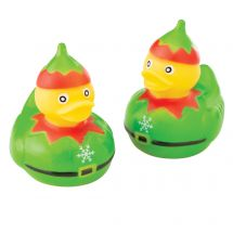Christmas Elves Rubber Ducks