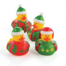Ugly Christmas Sweater Rubber Ducks