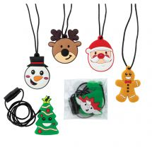 Christmas Character Necklaces
