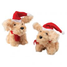 Christmas Plush Labradoodles