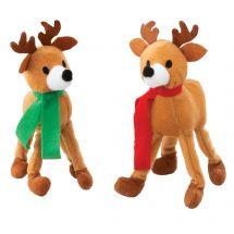 Goofy Plush Reindeer Bendables