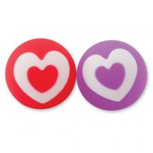 30mm Valentine's Heart Bouncing Balls