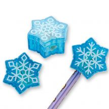 Snowflake Pencil Sharpeners