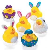 Easter Mini Rubber Ducks
