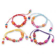 Wooden Bead Friendship Bracelets
