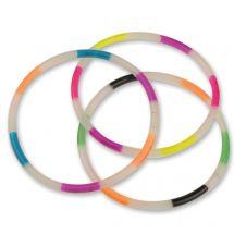 Glow in the Dark Rainbow Bracelets