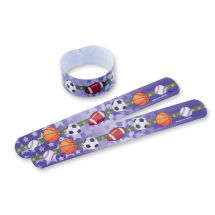 Sports Ball Slap Bracelets