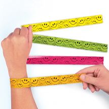 Smiley Slap Bracelets
