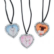 Rachael Hale Jewel Heart Necklaces