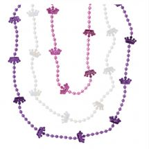 Princess Crown Bead Necklaces