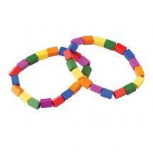 Color Block Bracelets