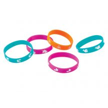 Trendy Icon Rubber Bracelets