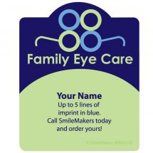 Shaped Family Eye Care Magnets
