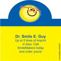 Smiley Guy With Glasses Shaped Magnets