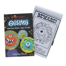 Germ Squad Coloring Books