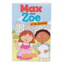 Max and Zoe at the Doctor Book