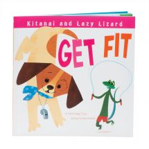 Kitanai and Lazy Lizard Get Fit Book