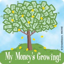 Funny Money Stickers