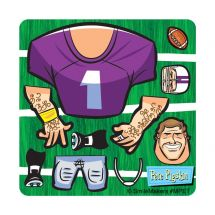 Make Your Own™ Football Player Stickers