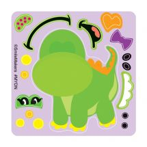 Make-Your-Own Dino Stickers