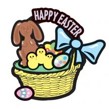 Make-Your-Own™ Easter Basket Stickers