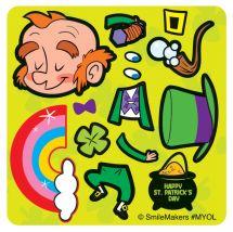 Make Your Own™ Leprechaun Stickers