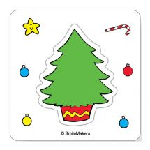 Make Your Own™ Christmas Tree Stickers