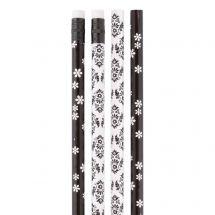BLACK & WHITE STYLE PENCILS