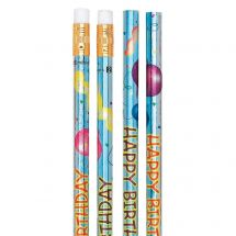 Happy Birthday Sparkle Pencils
