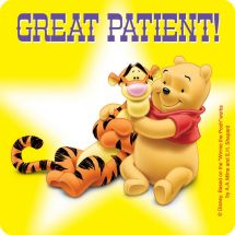 Winnie the Pooh Patient Stickers