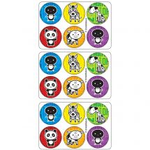 Animal Mini Dots Stickers