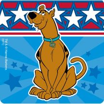 Scooby-Doo Patriotic Stickers