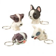 Playful Pups Collectible Backpack Pulls