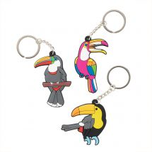 Tropical Bird Backpack Pulls
