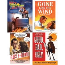Classic Dental Movies Laser Cards