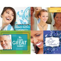 CREATING GREAT SMILES LASER CARDS